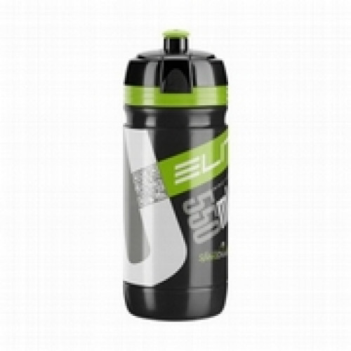 Pudele ELITE CORSA black/green 550ml