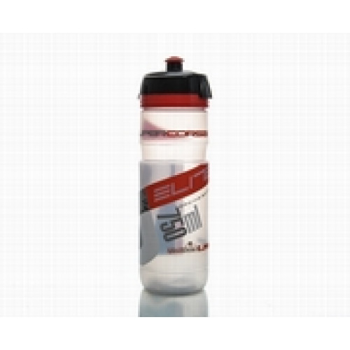 Pudele ELITE CORSA red/transp. 750ml