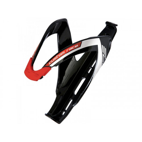 Pudeļturētājs ELITE CUSTOM RACE BLACK/WHITE/RED