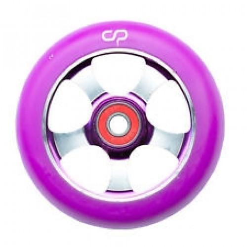 Skūtera riteņi CRISP 5 SPOKE wheel purple100mm