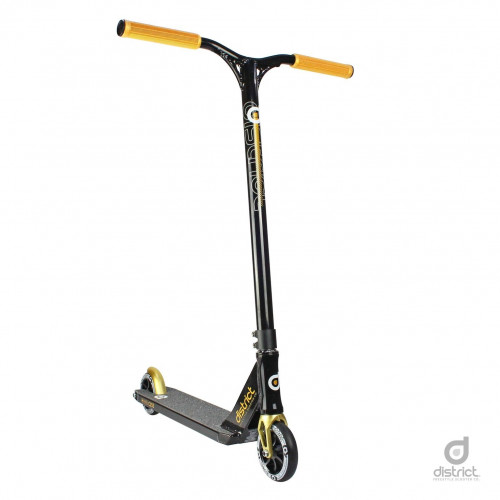 Skūteris DISTRICT C-SERIES C253 black/gold