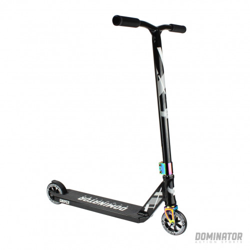 Skūteris DOMINATOR AIRBONE chrome/black