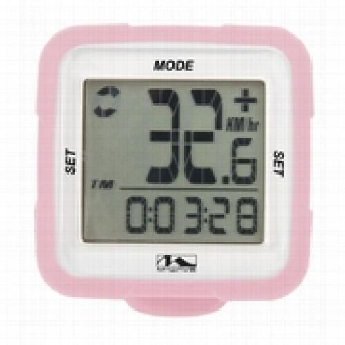 Velodators M-WAVE 14 funkcijas rozā