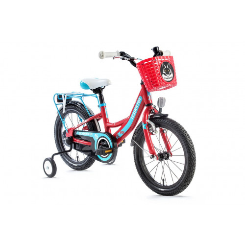 Velosipēds LEADER FOX BUSBY GIRL 16'' red 2018