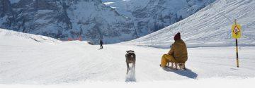 Bērnu ragavas un sniega matrači