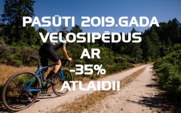 2019. gada velosipēdu priekšpasūtījums.